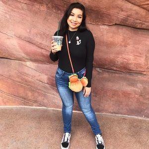 Tokyo Disney Mickey Hamburger mini purse